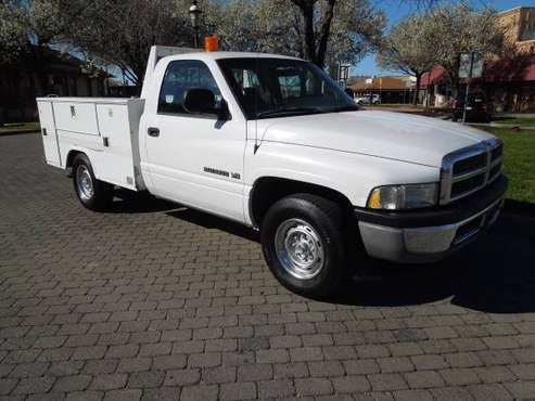 1999 DODGE 2500 UTILITY WITH LIFT GATE LOW MILES for sale in Oakdale, CA
