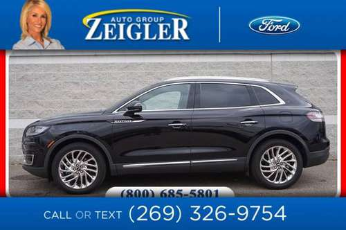 *2019* *Lincoln* *Nautilus* *Reserve* - cars & trucks - by dealer -... for sale in Plainwell, IN