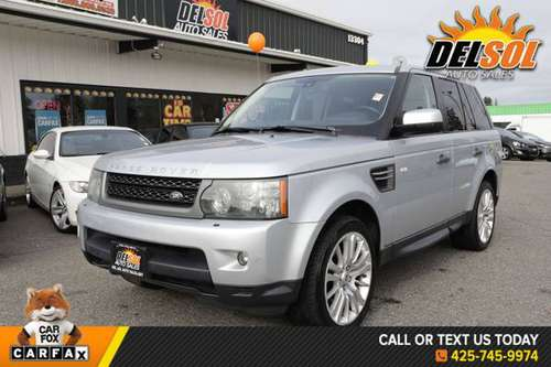 2010 Land Rover Range Rover Sport HSE 4x4, Navigation, Leather, Heated for sale in Everett, WA