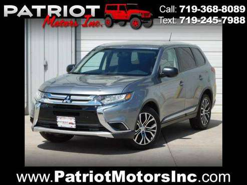 2016 Mitsubishi Outlander SE AWD - MOST BANG FOR THE BUCK! for sale in Colorado Springs, CO