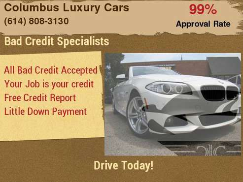 2013 BMW 5 Series 4dr Sdn 550i xDrive AWD with Micro-filter... for sale in Columbus, OH