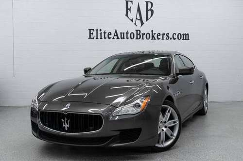 2015 *Maserati* *Quattroporte* *4dr Sedan S Q4* Grig for sale in Gaithersburg, MD