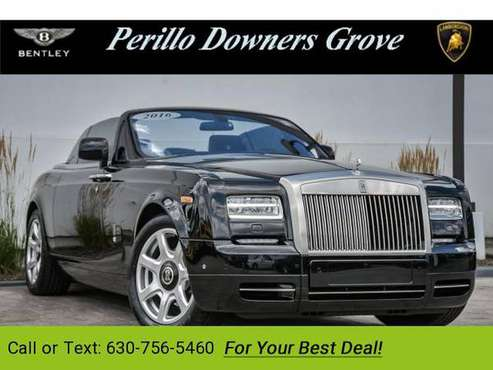 2016 Rolls-Royce Phantom Coupe coupe Diamond Black for sale in Downers Grove, IL