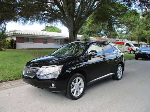 2010 LEXUS RX350 / ROOF RACK / BACK UP CAMERA / NAVIGATION for sale in Clearwater, FL