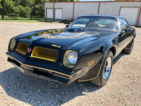 1976 Pontiac Trans Am 400 4 Speed Cold AC #594020 - cars & trucks -... for sale in Sherman, SD