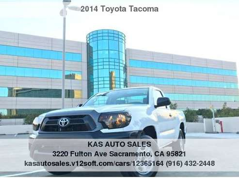 2014 Toyota Tacoma Base 4x2 2dr Regular Cab 6.1 ft SB 4A for sale in Sacramento , CA