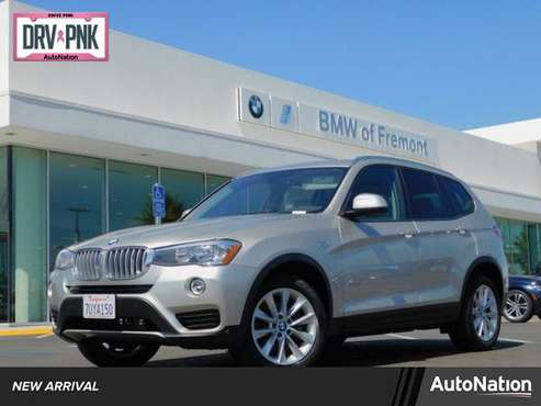 2016 BMW X3 xDrive28i AWD All Wheel Drive SKU:G0D91817 for sale in Fremont, CA