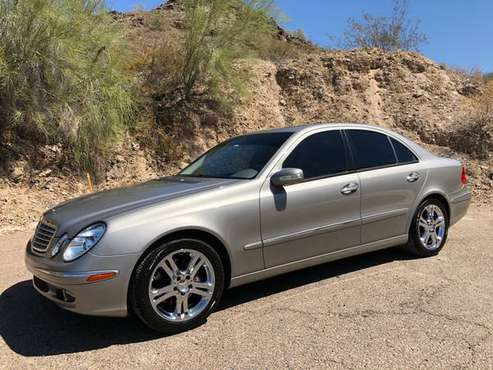 2004 Mercedes-Benz E-Class E500 !!! 5.0L V8 SOHC 24V !!! CLEAN CARFAX for sale in Phoenix, AZ