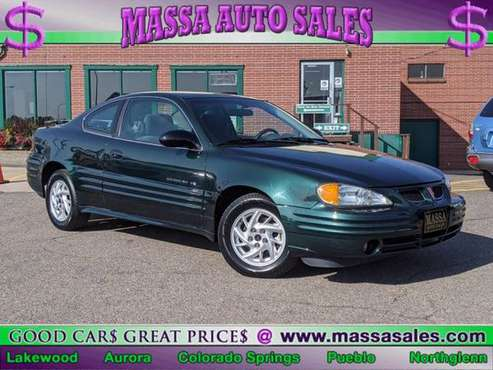 2002 Pontiac Grand Am SE1 - cars & trucks - by dealer - vehicle... for sale in Lakewood, CO