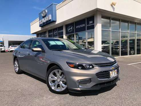 (((2017 CHEVROLET MALIBU PREMIER))) LIKE NEW! USED CAR PRICING! =) for sale in Kahului, HI