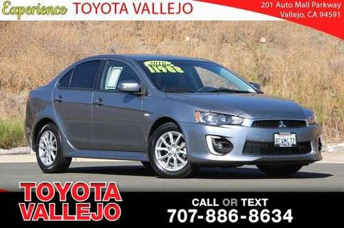 2016 Mitsubishi Lancer ES 4D Sedan for sale in Vallejo, CA