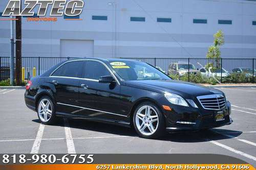 2013 Mercedes-Benz E 350 4MATIC Luxury Sedan Financing Available For... for sale in Los Angeles, CA