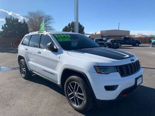 2017 Jeep Grand Cherokee Trailhawk 4x4-LOADED MSRP $52570 - cars &... for sale in Fort Collins, CO