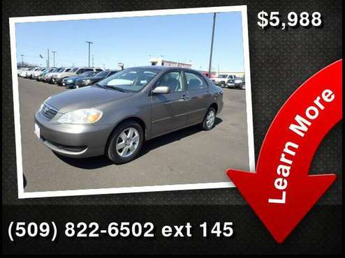 2007 Toyota Corolla LE Buy Here Pay Here for sale in Yakima, WA
