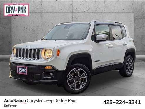 2015 Jeep Renegade Limited 4x4 4WD Four Wheel Drive SKU:FPC31975 -... for sale in Bellevue, WA