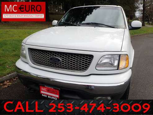 ★★2000 FORD F150 XLT EXTENDED CAB, AUTO, 4WD, 1 OWNER, CANOPY!! -... for sale in Tacoma, WA