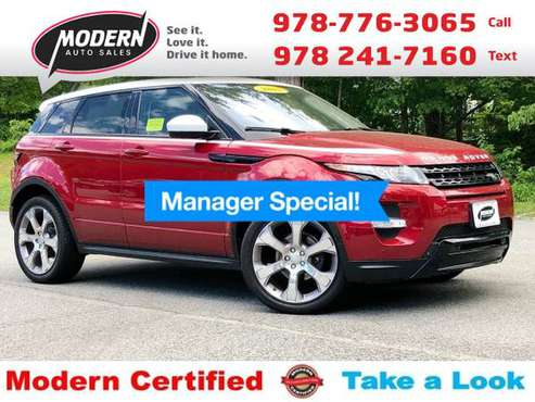 2015 Land Rover Range Rover Evoque DYNAMIC for sale in Tyngsboro, MA