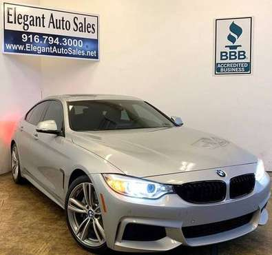 2015 BMW 4 Series 4dr 435i Gran Coupe * 54K LOW MILES * WARRANTY * F for sale in Rancho Cordova, CA