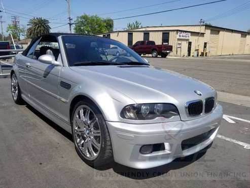 2004 BMW 3 Series M3 2dr Convertible 100% FINANCING for sale in Sacramento , CA