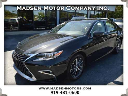 2016 Lexus ES 350 Sedan, 23k, Black, Safety Sys Plus! for sale in Cary, NC