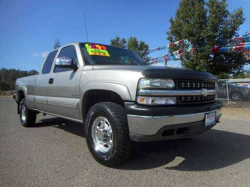 1999 CHEVY SILVERADO 2500 EXTENDED SHORTBED 4X4 REAL CLEAN TRUCK!!!! for sale in Anderson, CA