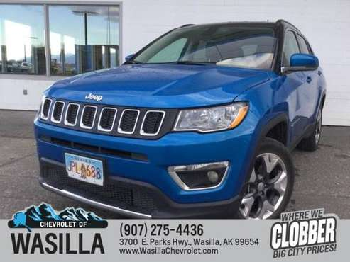 2019 Jeep Compass Limited 4x4 - cars & trucks - by dealer - vehicle... for sale in Wasilla, AK