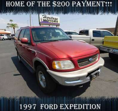 1997 Ford Expedition FAMILY FRIENDLY!!!- Hot Deal! - cars & trucks -... for sale in Casa Grande, AZ
