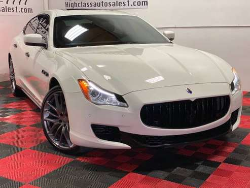 2014 MASERATI QUATTROPORTE SQ4 AWD CARBON PACKAGE!!! for sale in MATHER, CA