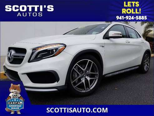 2016 Mercedes-Benz GLA AMG GLA 45~ 1-OWNER~ CLEAN CARFAX~! BEST COLOR for sale in Sarasota, FL