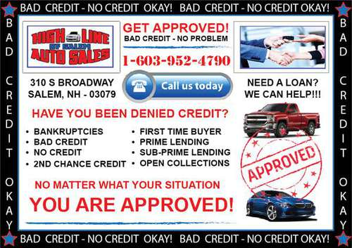 BAD CREDIT, POOR CREDIT - NO PROBLEM! We FINANCE ANYONE! CALL NOW! for sale in Salem, ME