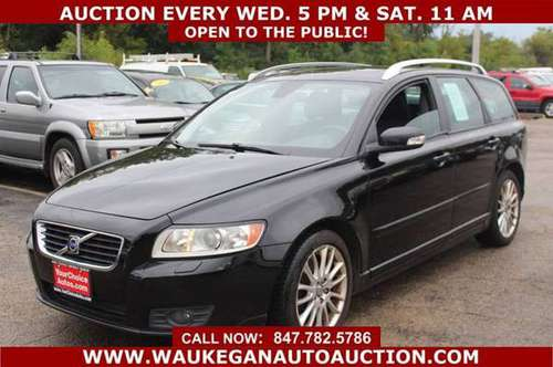 2008 *VOLVO* *V50* T5 2.5L I5 1OWNER LEATHER ALLOY GOOD TIRES 404522 for sale in WAUKEGAN, IL