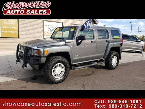 4x4 HUMMER!! 2009 HUMMER H3 4WD 4dr SUV for sale in Chesaning, MI