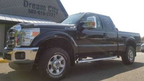 2015 Ford F250 Super Duty Super Cab 4x4 F-250 XLT 6 3/4 ft Truck for sale in Portland, OR
