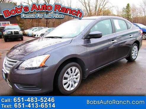 2015 Nissan Sentra 4dr Sdn I4 CVT SV - cars & trucks - by dealer -... for sale in Lino Lakes, MN