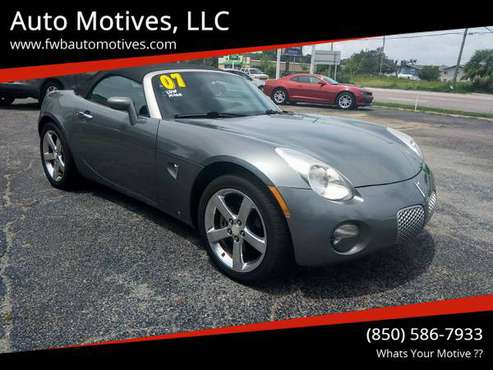 Pontiac solstice 77K/MILES - cars & trucks - by dealer - vehicle... for sale in Fort Walton Beach, FL