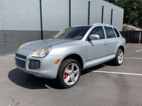 Silver 2006 Porsche Cayenne Turbo S AWD 4dr SUV Traction Control for sale in Lynnwood, WA