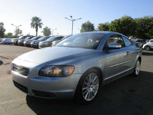 2008 Volvo C70 CONVERTIBLE - AC WORKS - LEATHER AND HEATED SEATS - 5... for sale in Sacramento , CA