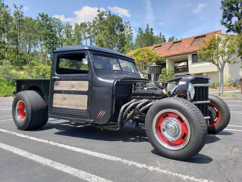1951 willys pickup rat rod for sale in Laguna Niguel, CA