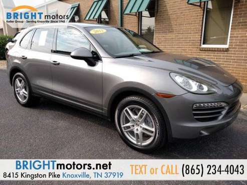 2011 Porsche Cayenne Base HIGH-QUALITY VEHICLES at LOWEST PRICES for sale in Knoxville, TN