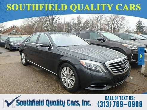 2015 Mercedes-Benz S 550 Sedan Mercedes Benz S Class 4MATIC S550 S-550 for sale in Detroit, MI