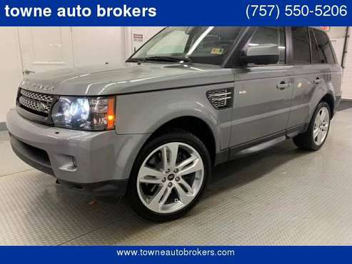 2013 Land Rover Range Rover Sport HSE LUX 4x4 4dr SUV for sale in Virginia Beach, VA