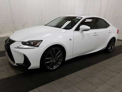 2018 *Lexus* *IS* *IS 300 AWD* Eminent White Pearl for sale in south amboy, NJ