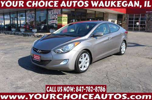 2012*HYUNDAI*ELANTRA*LIMITED LEATHER SUNROF CD ALLOY GOOD TIRES 116982 for sale in WAUKEGAN, IL