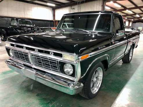 1977 Ford F100 Ranger XLT SWB Pickup 5.0 Supercharged #X90915 - cars... for sale in Sherman, NM