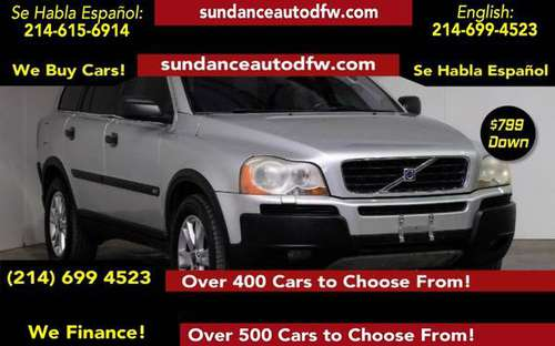 2003 Volvo XC90 2.9L Twin Turbo -Guaranteed Approval! for sale in Addison, TX