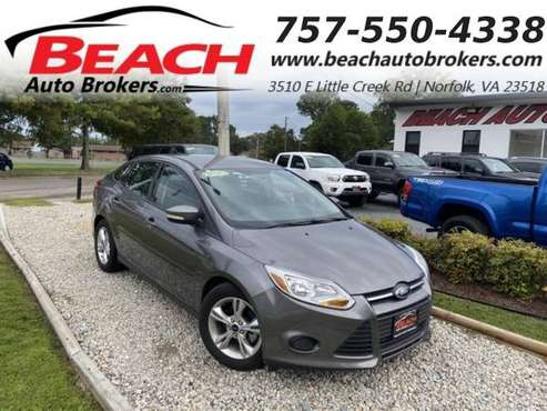 2014 Ford Focus SE, WARRANTY, AUX/USB PORT, BLUETOOTH, PARKING SEN -... for sale in Norfolk, VA