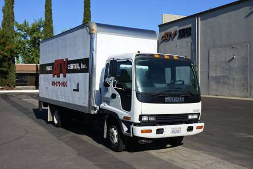Isuzu FRR Turbo-Cooled 24' Box Truck for sale in Sacramento, NV