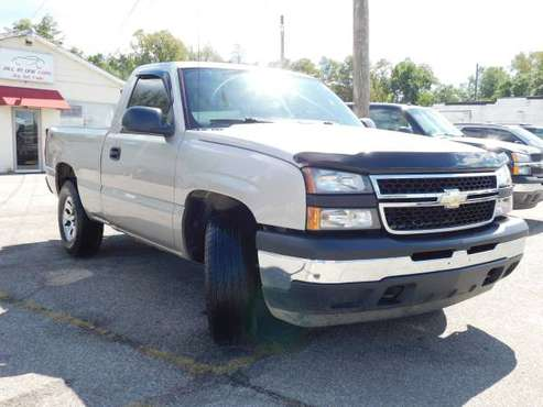 2006 Chevrolet Silverado 1500 Regular Cab Work Truck Pickup for sale in Anderson, IN