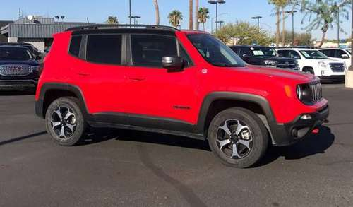 2019 Jeep Renegade Colorado Red Clearcoat Good deal! - cars & trucks... for sale in Tucson, AZ