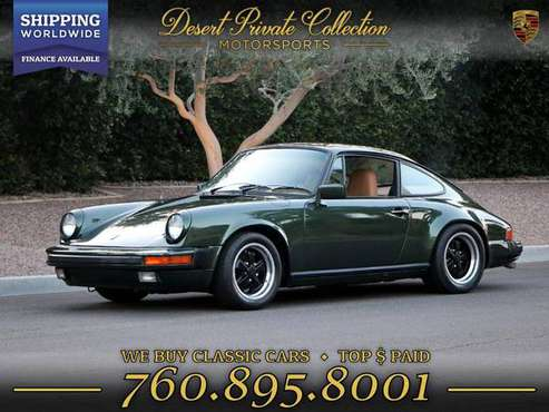 1976 Porsche 911S Fully Matching Numbers+COA Coupe Coupe at an... for sale in Palm Desert , CA